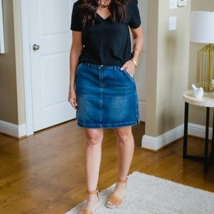 Old Navy Plus Size Jean Skirt